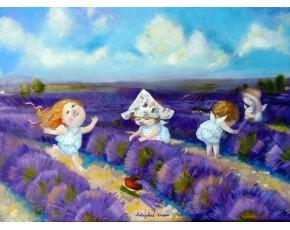 Гапчинская картины, копии в стиле Е. Гапчинской, ART: GAP777018