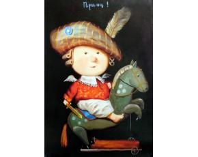 Гапчинская картины, копии в стиле Е. Гапчинской, ART: GAP777026
