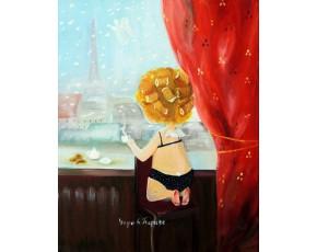 Гапчинская картины, копии в стиле Е. Гапчинской, ART: GAP777041