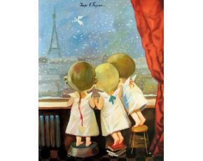 Гапчинская картины, копии в стиле Е. Гапчинской, ART: GAP777042