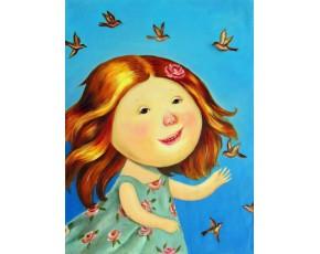 Гапчинская картины, копии в стиле Е. Гапчинской, ART: GAP777043