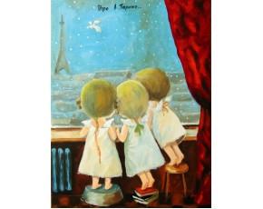Гапчинская картины, копии в стиле Е. Гапчинской, ART: GAP777047