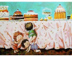 Гапчинская картины, копии в стиле Е. Гапчинской, ART: GAP777054