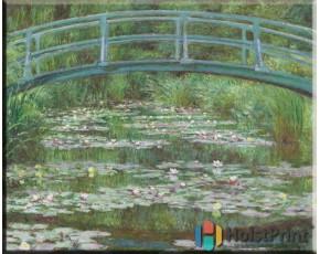 Водяные лилии Моне