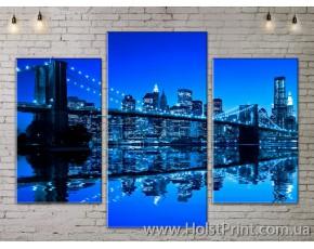 Модульные картины, Город, ART. SITY778003
