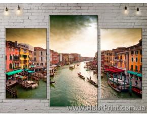 Модульные картины, Венеция, ART. SITY778005