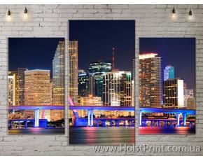Модульные картины, Город, ART. SITY778009