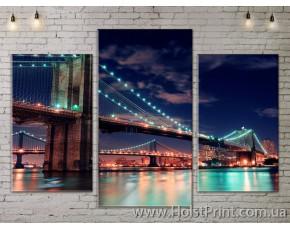 Модульные картины, Бруклинский мост, ART. SITY778011