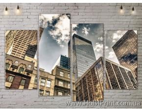 Модульные картины, Город, ART. SITY778191