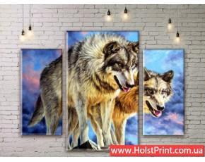 Модульные картины, животные, ART. ANIM777001