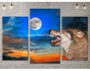 Модульные картины, животные, ART. ANIM778003