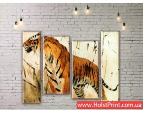 Модульные картины, животные, ART. ANIM777051