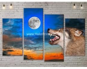 Модульные картины, животные, ART. ANIM778029