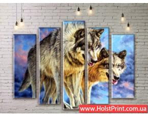 Модульные картины, животные, ART. ANIM777005