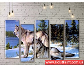 Модульные картины, животные, ART. ANIM777011