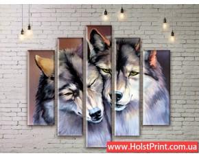Модульные картины, животные, ART. ANIM777023