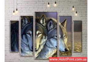 Модульные картины, животные, ART. ANIM777047
