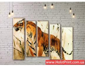 Модульные картины, животные, ART. ANIM777053