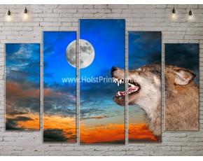 Модульные картины, животные, ART. ANIM778055