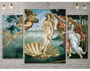 Картина модульная, Рождение Венеры, ART. KLAA777003