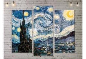 Картина модульная, Ван Гог, ART. KLAA777005