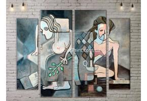 Картина модульная, ART. KLAA777015