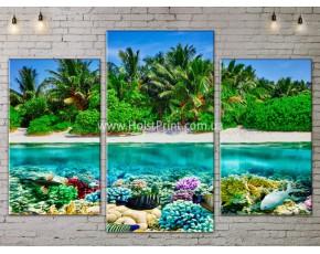 Модульные картины, Море, ART. SEAA777031