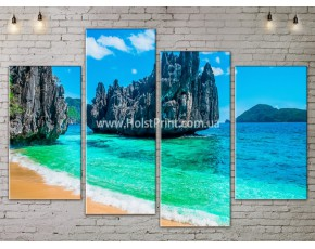 Модульные картины, Море, ART. SEAA777083