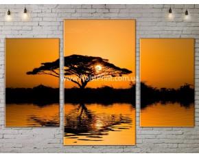 Модульные картины, Пейзажи природы, ART. NATA777001