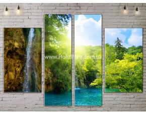 Модульные картины, Пейзажи природы, ART. NATA777169