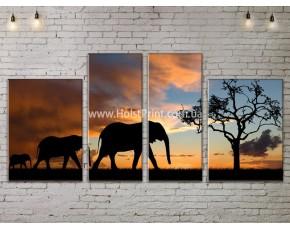 Модульные картины, Пейзажи природы, ART. NATA777175