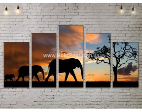 Модульные картины, Пейзажи природы, ART. NATA777339