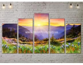 Модульные картины, Пейзажи природы, ART. NATA777343