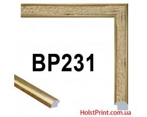 Багет пластиковый BP231 (СУПЕР ЦЕНА: 47 грн/м.п.) АКЦИЯ!