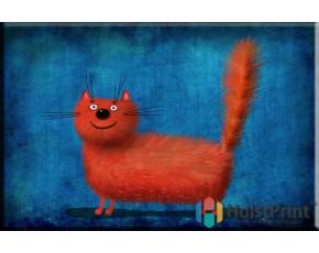 Красный кот