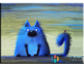 Голубой кот