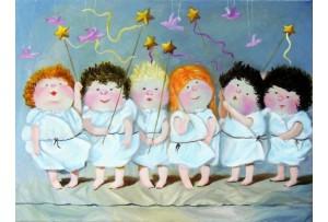 Гапчинская картины, копии в стиле Е. Гапчинской, ART: GAP777015
