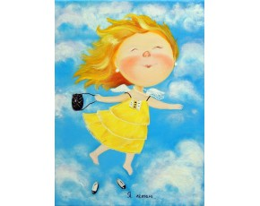 Гапчинская картины, копии в стиле Е. Гапчинской, ART: GAP777031