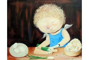 Гапчинская картины, копии в стиле Е. Гапчинской, ART: GAP777036