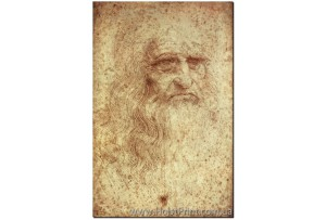 Леонардо да Винчи, Автопортрет, ART: KLA888016