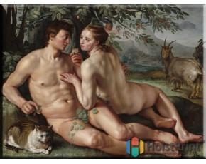 Картина Адам и Ева