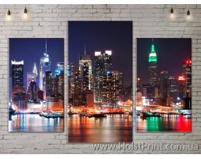 Модульные картины, Город, ART. SITY778001