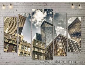 Модульные картины, Город, ART. SITY778365