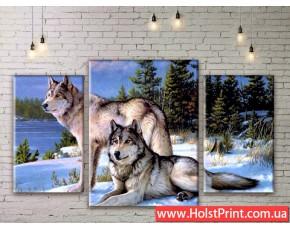 Модульные картины, животные, ART. ANIM777007