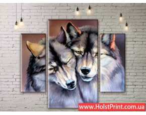Модульные картины, животные, ART. ANIM777019