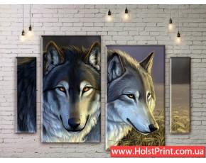 Модульные картины, животные, ART. ANIM777045