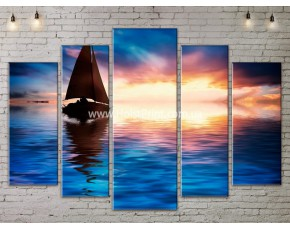 Модульные картины, Море, ART. SEAA777151