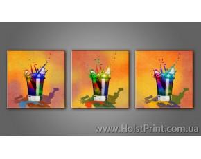 Модульные картины, Натюрморт, ART. KUM772267-3