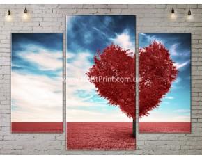 Модульные картины, Дерево сердце, ART. NATA777129