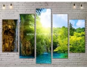 Модульные картины, Пейзажи природы, ART. NATA777333